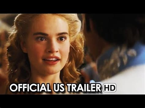 youtube film cinderella 2015 full cinderella official us trailer 1 2015 youtube
