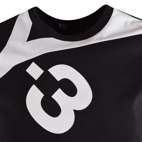 Adidas Logo Black Tshirt adidas y 3 adidas y 3 black logo t shirt adidas y 3 from