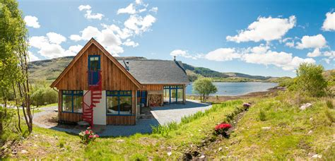 Remote Coastal Cottages by Self Catering Cottages At Rahoy Estate On Remote
