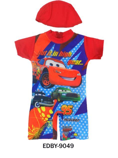 Baju Anak Cars 3 Baju Bayi Karakter Cars Sale Kaos Cars 3 5 baju renang diving bayi karakter edby 9049 distributor