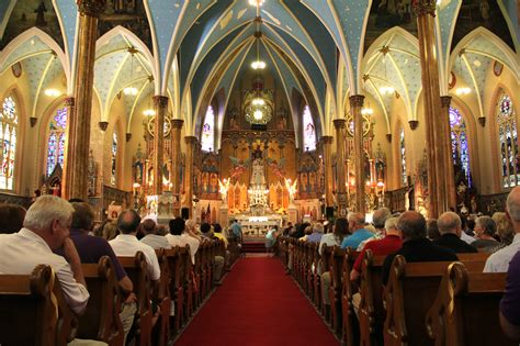 Nice Our Lady Of Perpetual Help Catholic Church #3: Mass-Mob.jpg