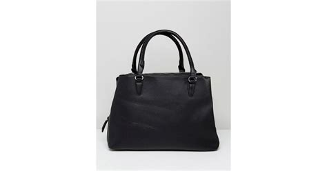 Stadivarius Tote Bag lyst stradivarius zipper tote bag in black