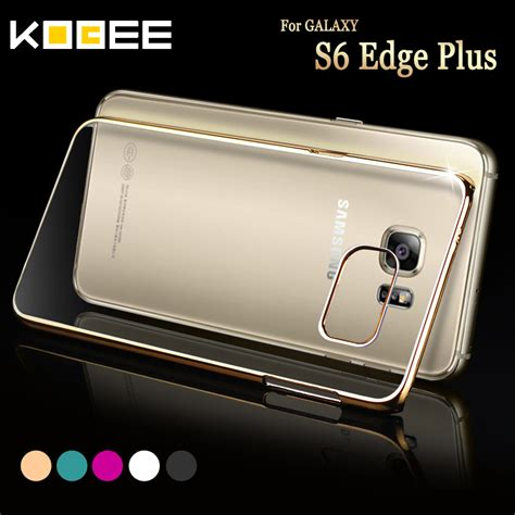 Samsung S6 Edge Plus Hardcase Samsung S6 Edge luxury clear for samsung galaxy s6 edge plus 5 7 transparent phone cover for