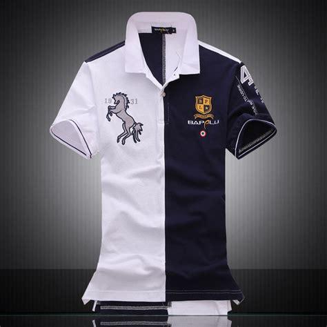 Polo Shirt One Logo 1 embroidered logo brand militare polo shirts air