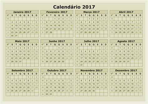 Descargar Calendario Laboral 2017 Calendario Descargar 2017 Calendar Printable For Free