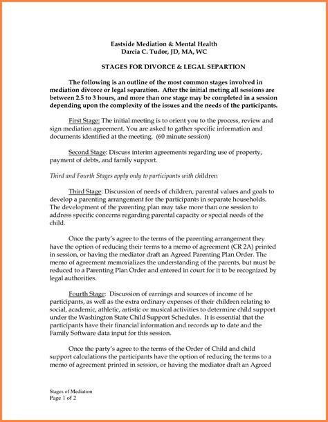 9 Mediation Settlement Agreement Template Purchase Agreement Group Mediation Agreement Template