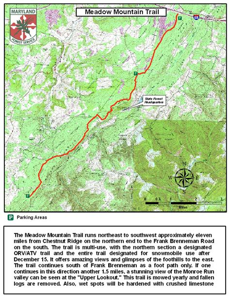 maryland forest map savage river state forest forest service maryland