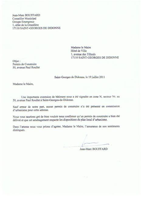 Exemple De Lettre Demande De Logement Au Maire Modele Lettre Au Maire