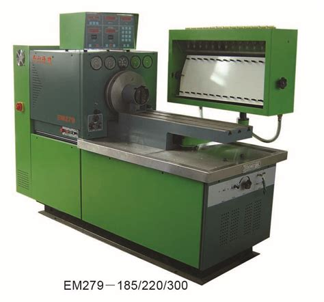 china em279 fuel injection pump test bench china fuel