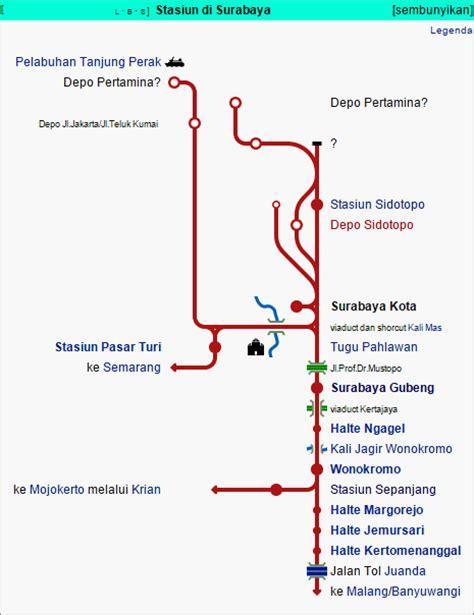 Peta Angkot Surabaya 2 Klp stasiun kereta api di surabaya surabaya info wisata