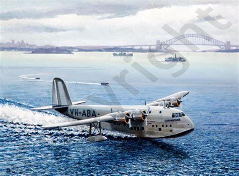 boats for sale empire bay the empire flying boat steve leadenham transport art