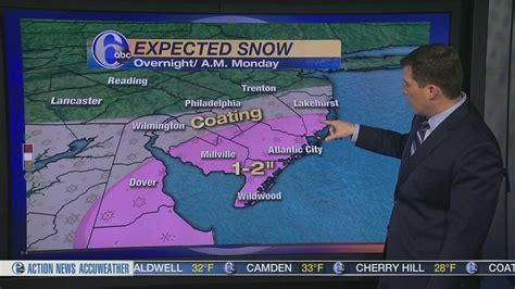 weather news 6 abc philadelphia accuweather and stormtracker 6 live double scan