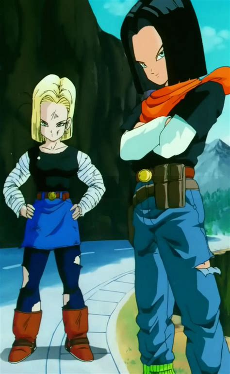 android 17 and 18 image android 17 and 18 jpg png wiki