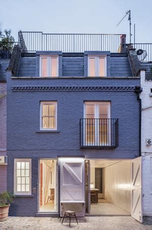 mews house design st luke s mews house london by jonathan tuckey design technical building design