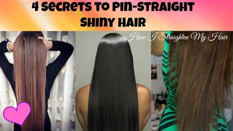 how to make your hair nappy without a sponge secrets to pin straight shiny hair how i straighten my