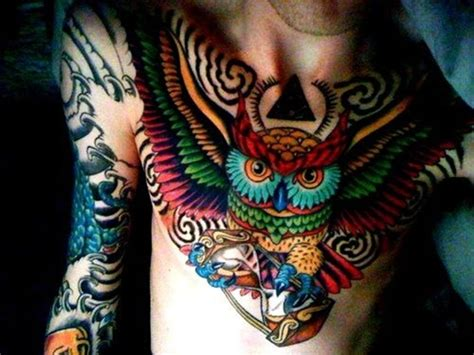 owl tattoo meaning japanese 40 cool owl tattoo design ideas with meanings