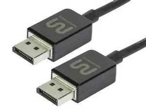 6ft premium displayport 1 2 to cable black