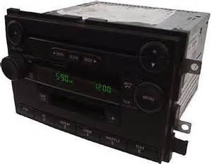 2005 ford f150 factory stereo am fm cd player radio