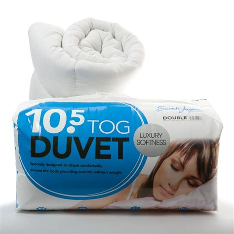 Quilt Tog Rating by 10 5 Tog Duvet Quilt Hollow Fibre Cotton Cover Luxury Soft