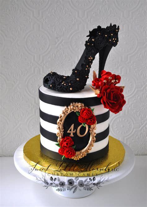 birthday cake cake  stephanie cakesdecor