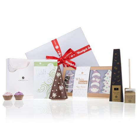 christmas gift set in a box