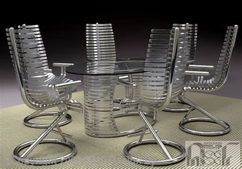stainless steel patio furniture tubular stainless steel dining set advanced stainless