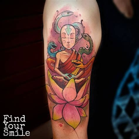 avatar last airbender tattoo 981 best watercolor tattoos images on water