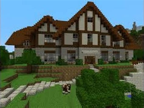 hard house minecraft how to build a simple and a hard house youtube