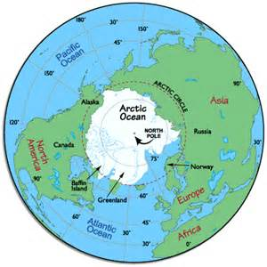arctic circle canada map the ozone