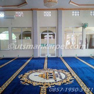 Karpet Masjid Hijau Polos harga karpet masjid hijau polos murah utsmankarpet
