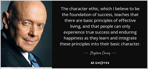 why walk on water when we ve got boats stephen covey quote the character ethic which i believe