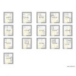 salle de bain 4m2 plan 17 pi 232 ces 75 m2 dessin 233 par jat