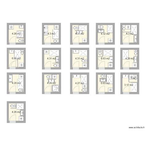 Amã Nagement Salle De Bain 4m2 Salle De Bain 4m2 Plan 17 Pi 232 Ces 75 M2 Dessin 233 Par Jat