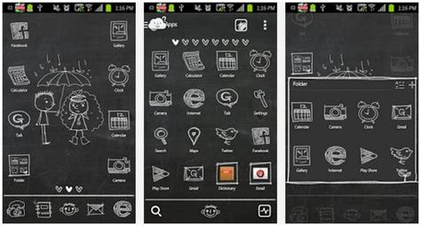 go launcher themes install 7 best and free android themes for go launcher ex 2015