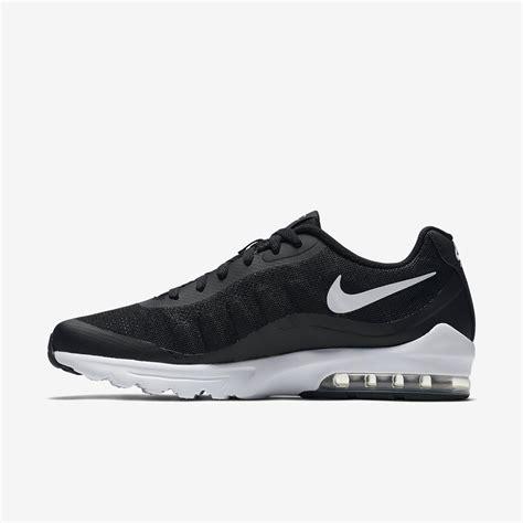 mens black nike running shoes nike mens air max invigor running shoes black white