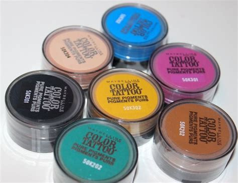 maybelline color tattoo pure pigments new maybelline new york color pigments review