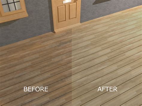seal  stain pressure treated wood decking  steps