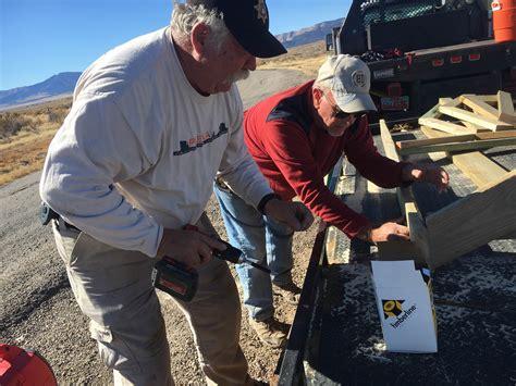 unturned fastest boat volunteers raise kiosk at lookout pass utah state parks