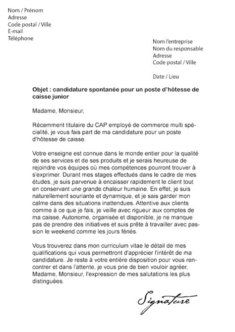 Exemple Lettre De Motivation Hotesse 3 Lettre De Motivation Hotesse De Caisse Exemple Lettres