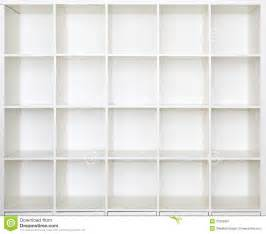 empty shelves bookcase library stock image image 37664861