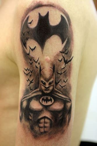 Batman Cowl Tattoo | batman tattoos