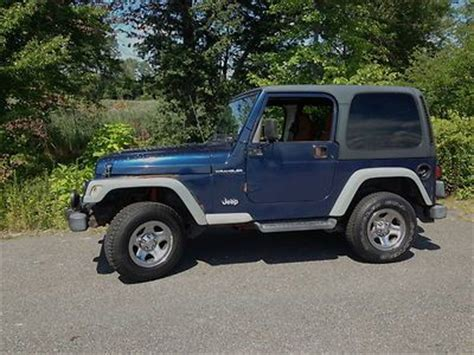 2002 Jeep Wrangler Mpg Sell Used 2002 Jeep Wrangler X Apex 6cyl Great Running