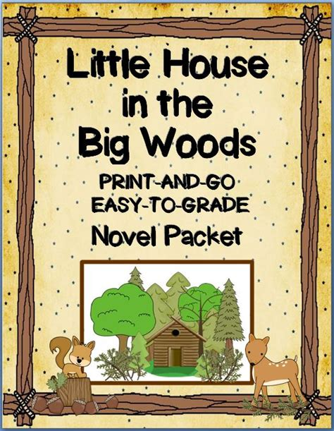House In The Big Woods by Zero Budget Resources For Building Your Classroom Library