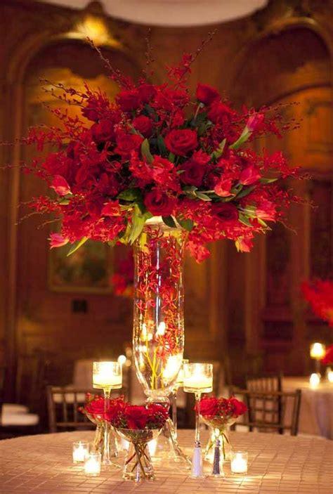 wedding wednesday red inspiration flirty fleurs
