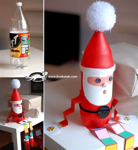 diy water bottle chrismast craft picture 115 best soda bottle crafts images on