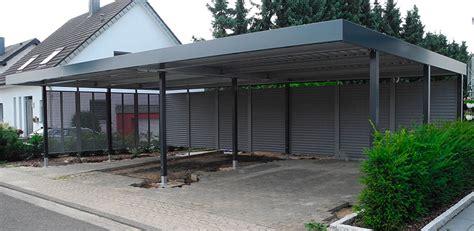 carport metall freitragend carport freitragend freitragendes carport aus metall