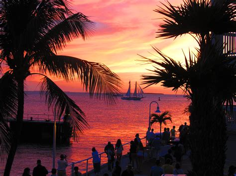 glass bottom boat tours fort myers beach florida s grand finale sunset in key west s mallory