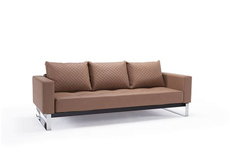 stocktons sofas leather sofa bed with textured pillow and color options