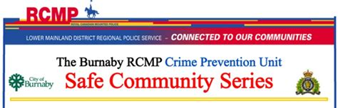 Burnaby Rcmp Criminal Record Check Registration Open For Block