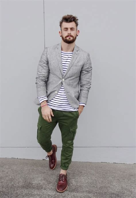 Jaket New Fashion Black Green Orange White Stylish New Impor gray linen jacket striped shirt olive green cargo s summer style